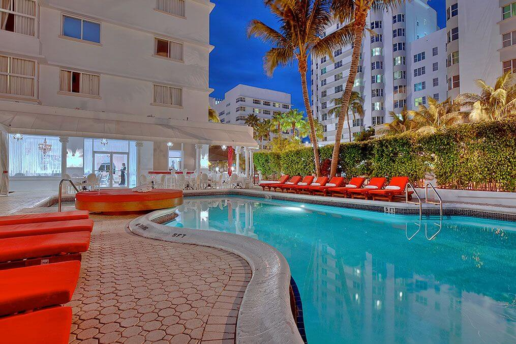 Miami Gallery Red South Beach Hotel Fl